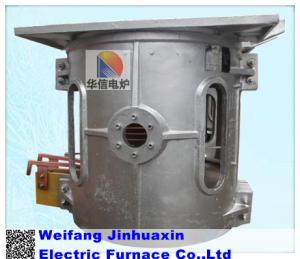 Aluminum Scrap induction melting furnace